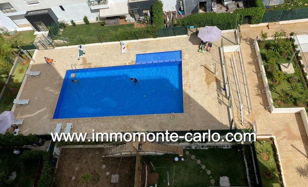 Location appartement avec terrasse Prestigia Hay Riad à Rabat