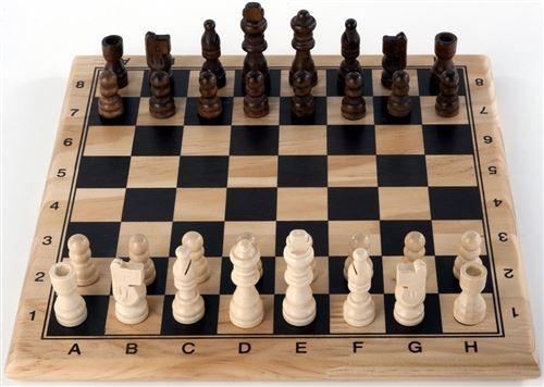 Jeux d'échec et dames à vendre