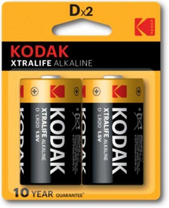Batteries KODAK XTRALIFE ALKALINE Dx2