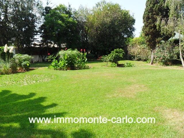 Villa à louer à Rabat OLM Souissi