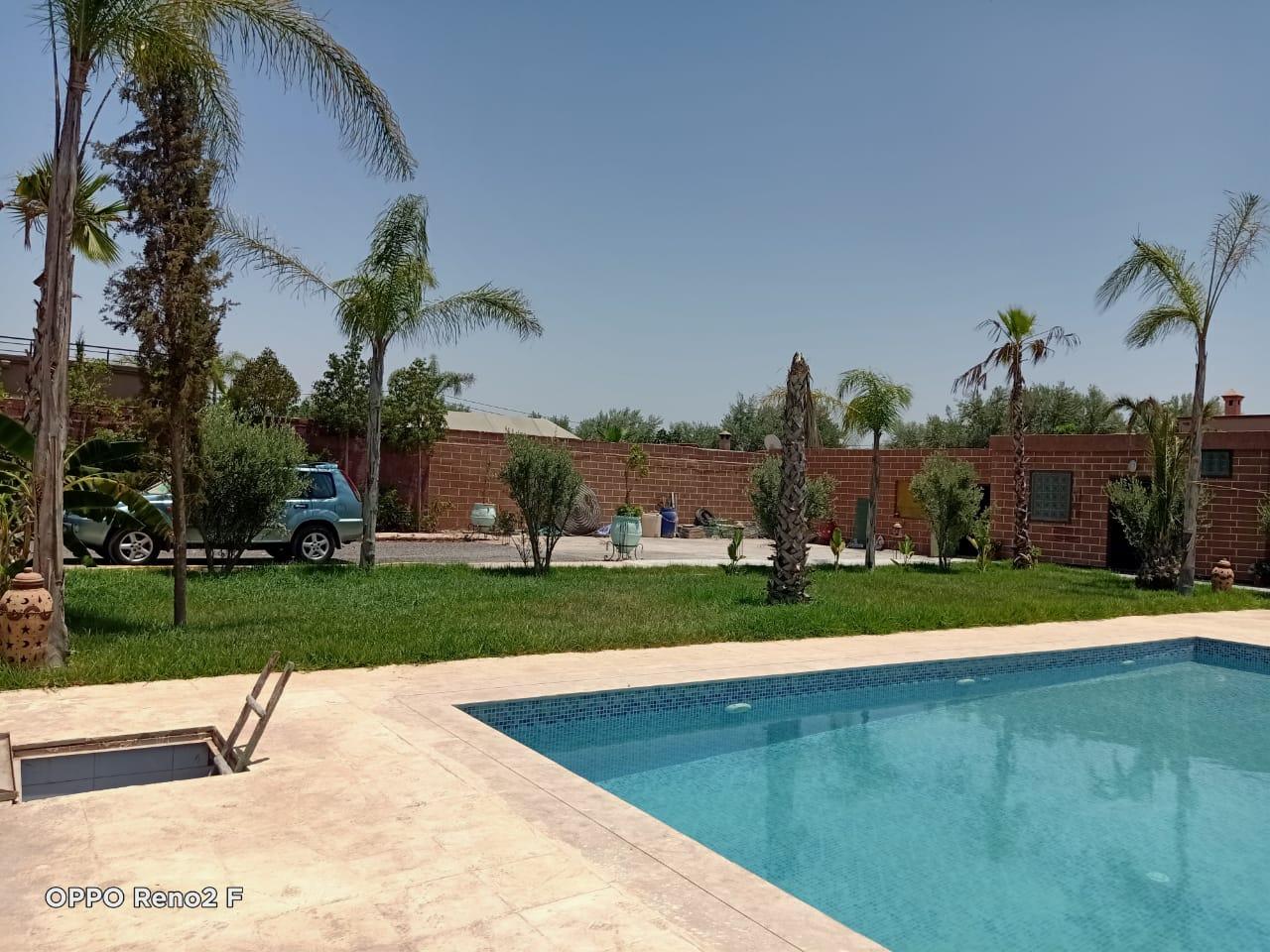 villa en location à la route de l'ourika