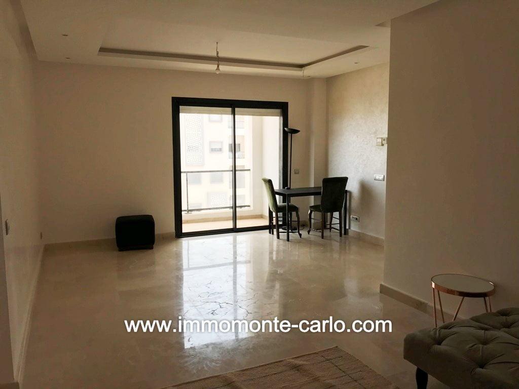 Location appartement meublé à Hay Riad Prestigia