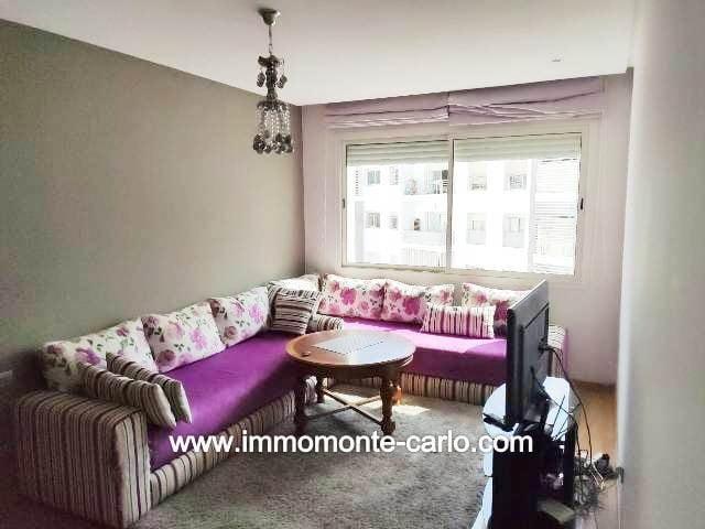Appartement meublé à louer à Hay Riad Prestigia Ryad Al Andalous