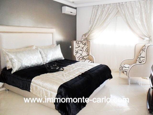 Location villa meublée à-Harhoura Plage Rabat