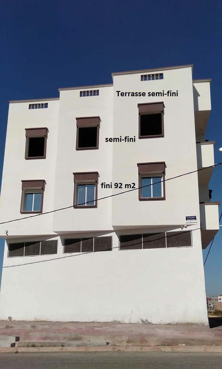 A vendre 2 appartements 204 M2