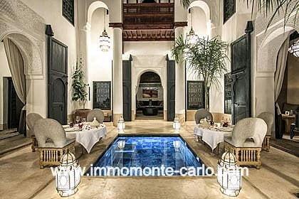 Vente Riad à Marrakech Maroc