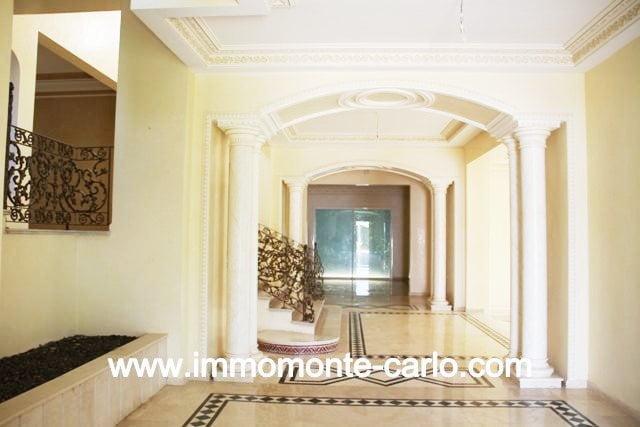 Location villa de prestige au quartier  Souissi RABAT