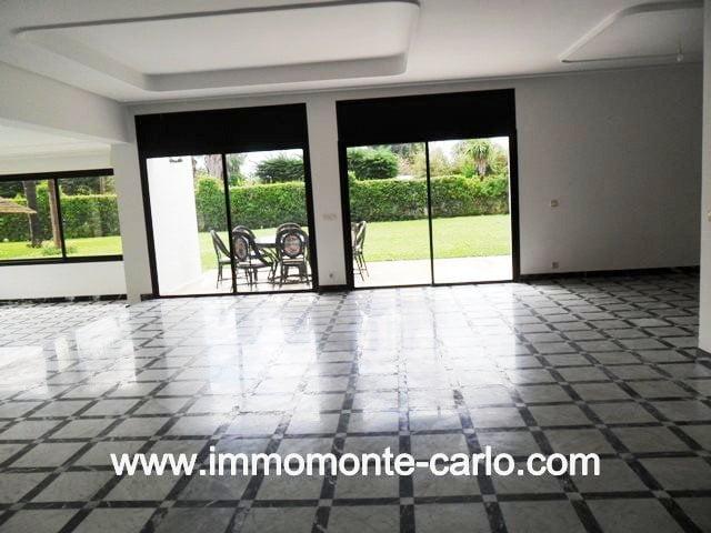 A louer Villa bureau à Souissi Rabat